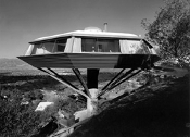 Julius Shulman-Malin Residence,(Chemosphere), Hollywood,Lautner