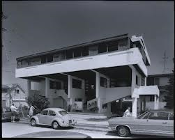 Julius Shulman - Lovell Beach House - Rudolph M. Shindler
