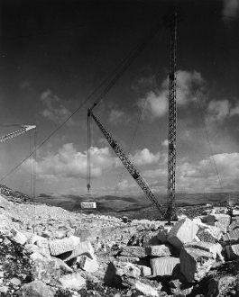 Julius Shulman - Lime and Stone Production Company, Israel
