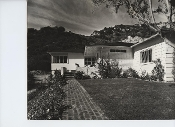 Julius Shulman's Private Collection-4 Home Frontage Prints