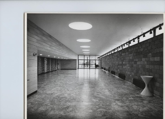 Julius Shulman-5 Prints-Technion Churchill Aud.-Sharon & Idelson