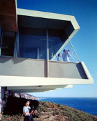 Julius Shulman-The Spencer House, Richard O. Spencer-Malibu.1956