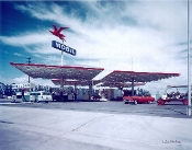"Julius Shuman-""Mobil Station"" Anaheim, Ca. Smith/Williams, 1956"