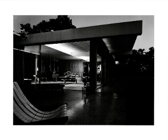 Julius Shulman-Tremaine House,Richard Neutra, Montecito, Ca.1950