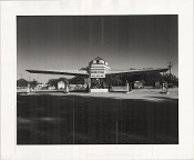 Julius Shulman- Atlantic Richfield Gas Station, Pitkin Brothers