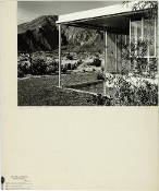 Julius Shulman-Miller House, Palm Springs,Ca.Richard Neutra.1938