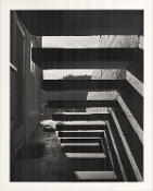 "Julius Shulman-Private Collection, ""Stairs"""