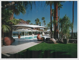 Julius Shulman-Bougain Villa House,William Burgess, Palm Springs