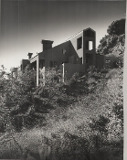 "Julius Shulman-Private Collection ""Home on the Hill"" Los Angeles"