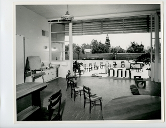 Julius Shulman-Kester Ave. Elementary School, Richard Neutra1951