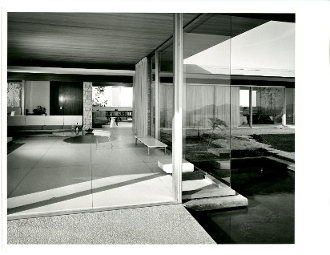 Julius Shulman-Vintage, Singleton House, Richard Neutra, 1960