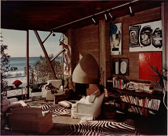 "Julius Shulman-""Malibu Living Room with an Ocean View"""