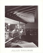 Julius Shulman-Very Rare, Case Study House 22, Two Girls Poster
